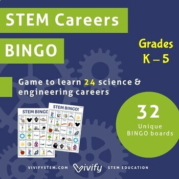 STEM Careers BINGO Game! (Elementary)