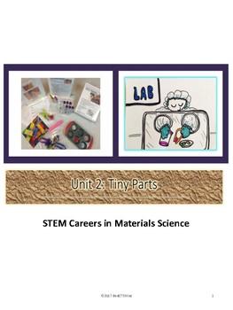 """STEM Careers: """"Tools for Futures in Materials Science"""" Curriculum Unit 2"""