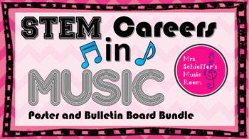 STEM Careers in Music Bulletin Board