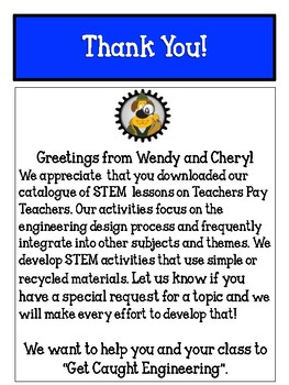 STEM Catalogue for Get Caught Engineering - STEM for Kids