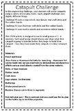 STEM Catapult Challenge Bundle