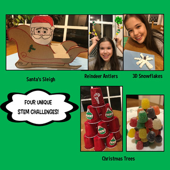 STEM Center Challenges - Christmas STEAM