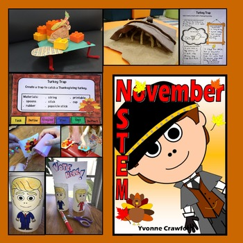 STEM Center Challenges - November STEAM