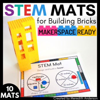 STEM Center for Building Bricks: STEM Mats