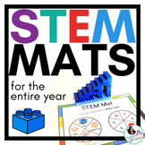 STEM Center for Building Bricks: Growing BUNDLE of STEM Mats