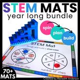 STEM Center for Building Bricks: Growing BUNDLE of STEM Mats