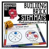 STEM Center for Building Bricks: STEM Mats ADVANCED Set
