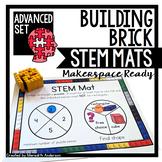 STEM Center for Building Bricks: STEM Mats ADVANCED Set