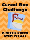 STEM Cereal Box Challege