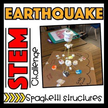STEM Challenge - Spaghetti Structures - Earthquake Engineering