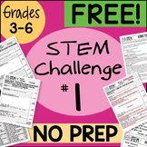 FREE! STEM Challenge #1 by Science and Math Doodles FREE!