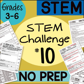 STEM Challenge #10 by Science and Math Doodles