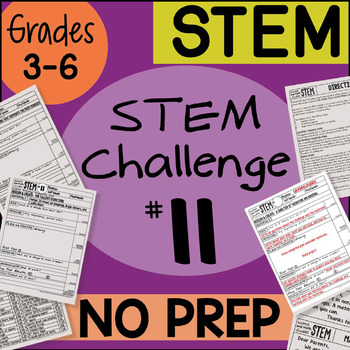 STEM Challenge #11 by Science and Math Doodles