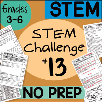 STEM Challenge #13 by Science and Math Doodles