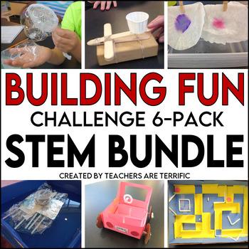 STEM Challenge 6 Pack Bundle featuring Building Fun!