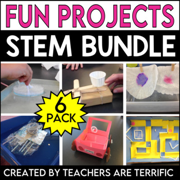 STEM 6 Pack Bundle featuring Building Fun Challenges