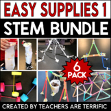 STEM Challenge 6 Pack Bundle featuring Easy Supplies
