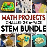 STEM Challenge 6 Pack Bundle featuring Math Skills