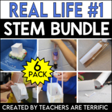 STEM Challenges 6 Pack Bundle featuring Real Life Adventures 1