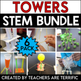 STEM Challenge 6 Pack Bundle featuring Towers