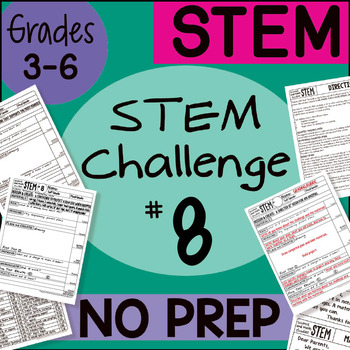 STEM Challenge #8 by Science and Math Doodles