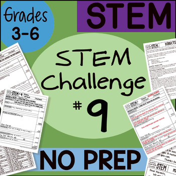 STEM Challenge #9 by Science and Math Doodles