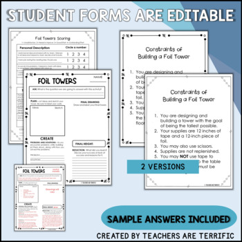 STEM Foil Towers