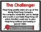 STEM Challenge:  A game of Ping-Pong #2 (Printables & DIY)