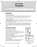 STEM Challenge: Airplane (Physical Science Concept: Air Resistance), Grade 3
