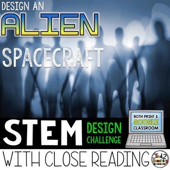 STEM Challenge - Alien Spacecraft Challenge