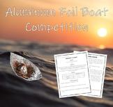 STEM Challenge - Buoyant Force  (Building a Foil Boat)