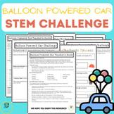 STEM Challenge - Balloon Powered Car