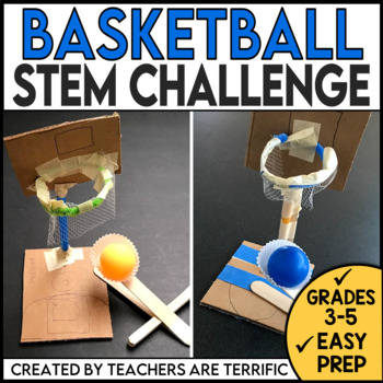STEM Challenge Basketball Goals