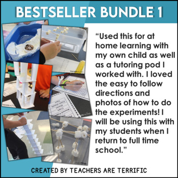 STEM Activities Challenge Best Seller Bundle #1