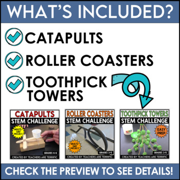 STEM Activities Challenge Best Seller Bundle #2