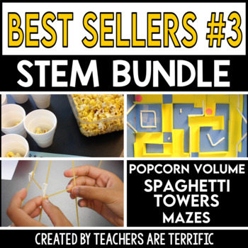 STEM Activities Challenge Best Seller Bundle #3