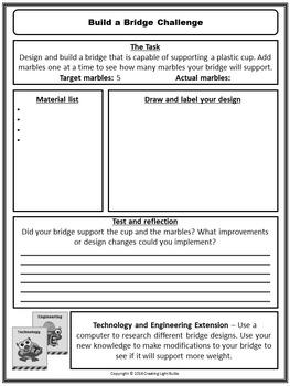 STEM Challenge #2 - Build A Bridge