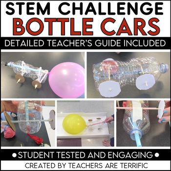 STEM Activity Challenge Build a Bottle Car- featuring Newt