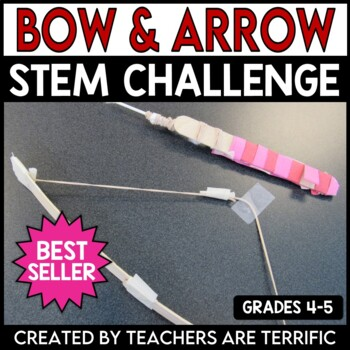 Valentine's Day STEM Bow and Arrow