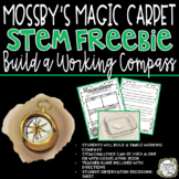 STEM Challenge Build a Compass (Mossbys Magic Carpet Handbook)