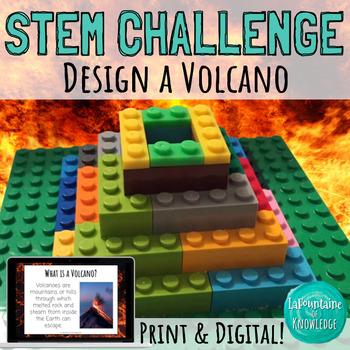 STEM Challenge: Build a Lego Volcano
