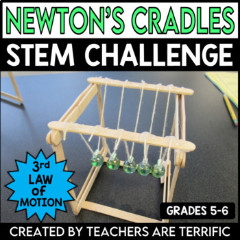 STEM Challenge Newton's Cradle - featuring Newton's 3rd Law