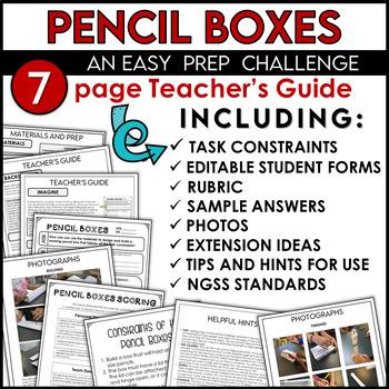 STEM Back to School Challenge Build a Pencil Box