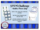 STEM Challenge - Build a Pirate Ship