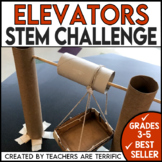 STEM Challenge Halloween Pumpkin Elevators