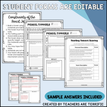 STEM Challenge Build a Twirling Tower
