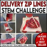 Valentine's Day STEM Challenge Zip Line