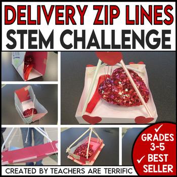 STEM Activity Challenge Build a Valentine Delivery Zip Line