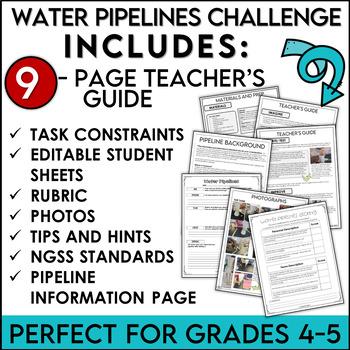 STEM Activity Challenge Build a Water Pipeline