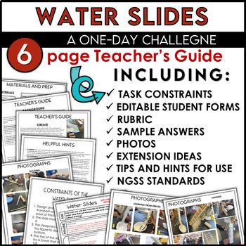 STEM Activity Challenge Build a Water Slide